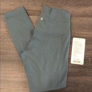 Lululemon Mystic Green Align Pant II Size 6
